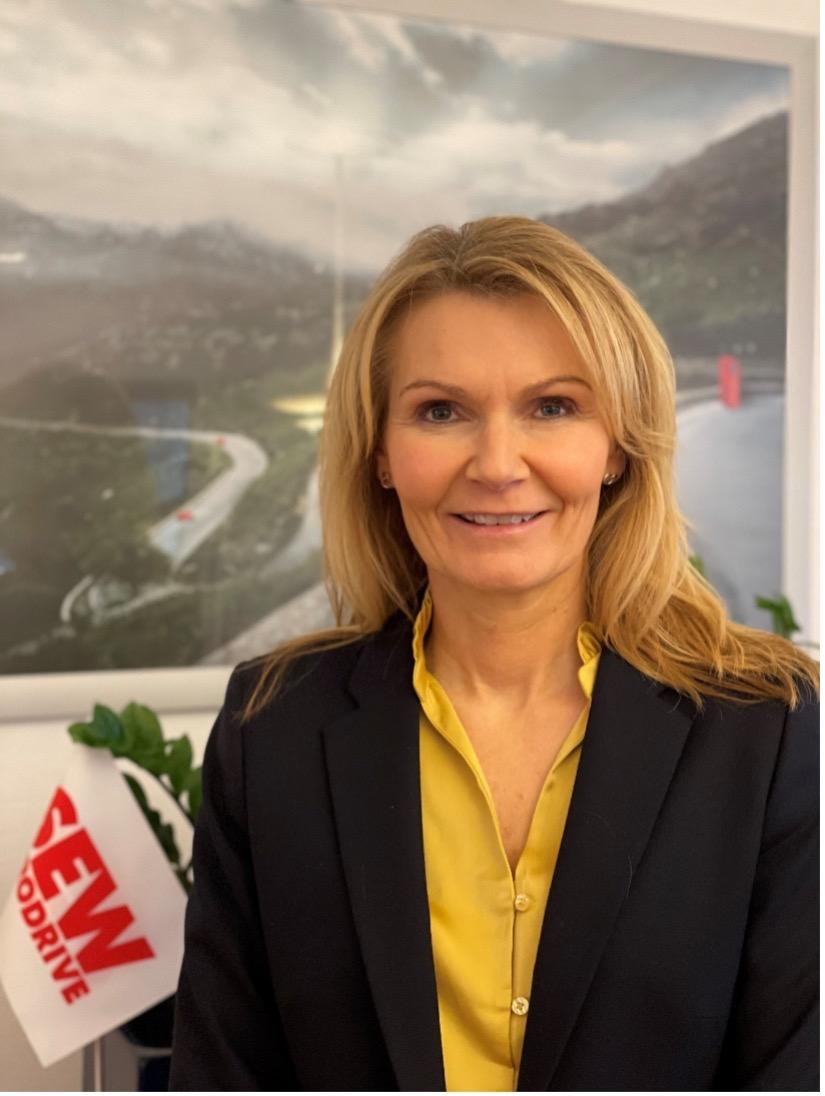 Heidi Svensen. Man. dir. SEW Eurodrive